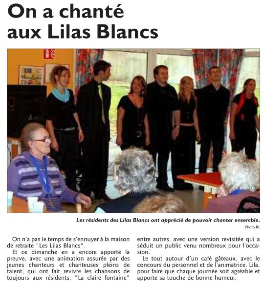 ARCHIVES EVENEMENTS 2008 - 2010 ConcertSoulparasolBoulay